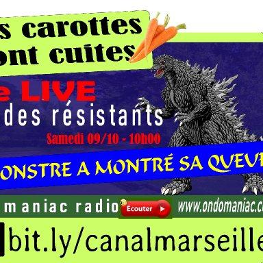 LES CAROTTES SONT CUITES - 09 - 10 - 2021